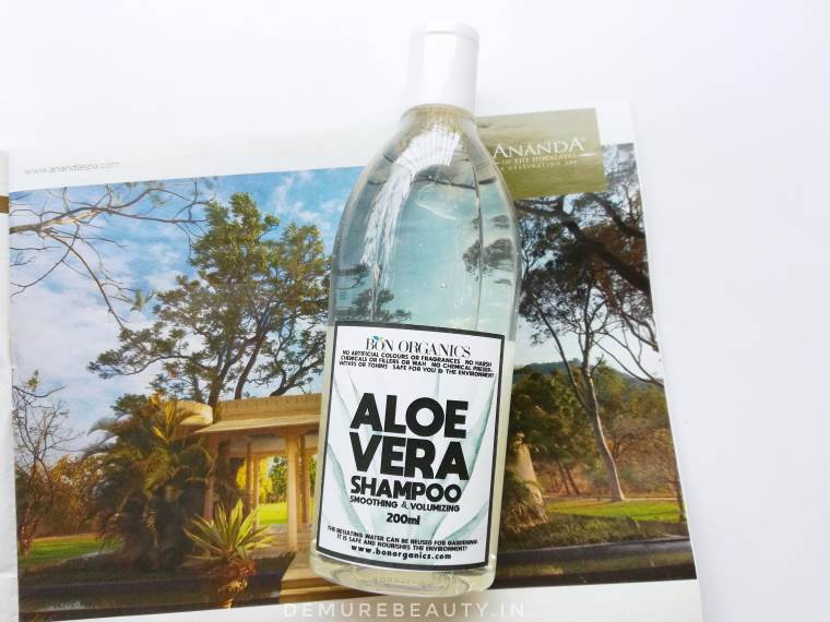 Bon Organics Aloe Vera Shampoo Review