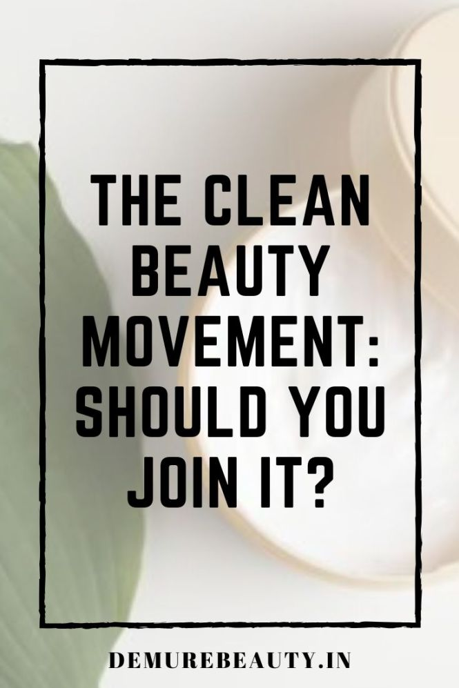 clean beauty movement india