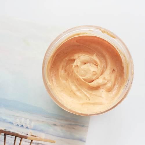 fabeya orange body scrub and polish review