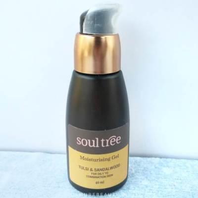 Soultree tulsi sandalwood moisturizer