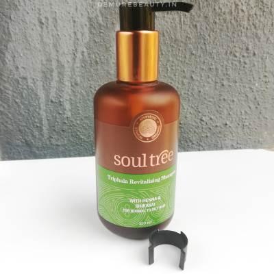 soultree triphala revitalising shampoo review