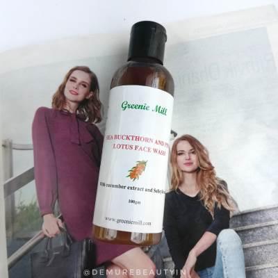 greenie mill facewash review