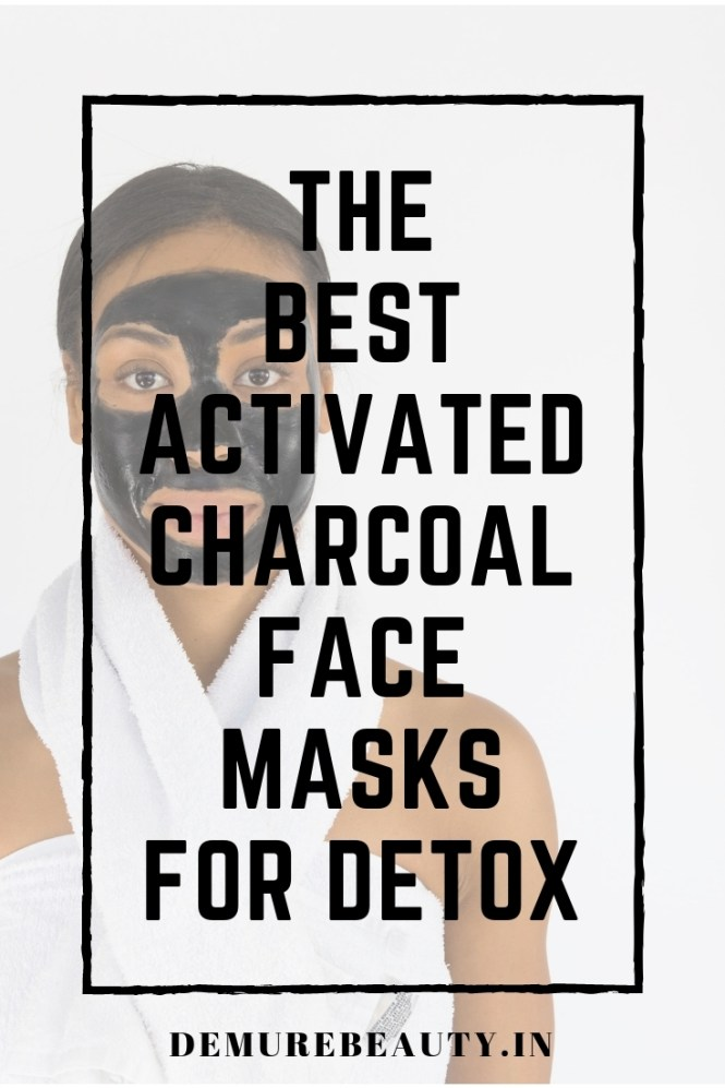 activated charcoal face mask for detox