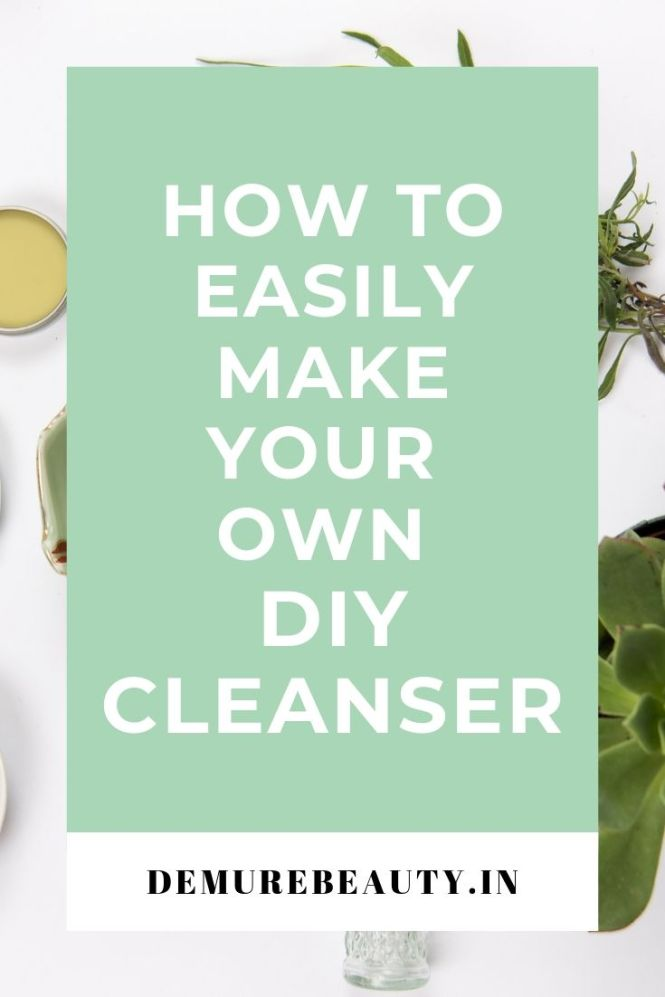 DIY powder cleanser guide #greenbeauty #skincare and recipe.