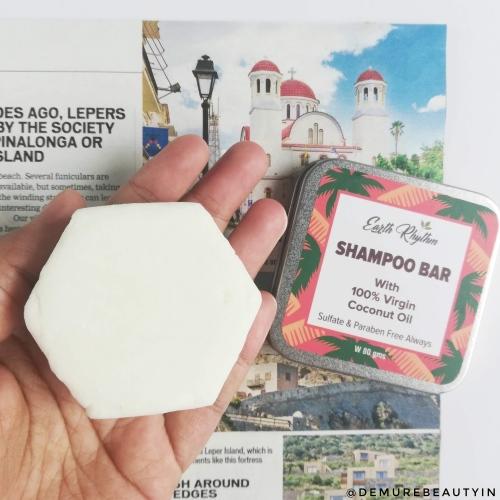 earthy rhythm shampo bar