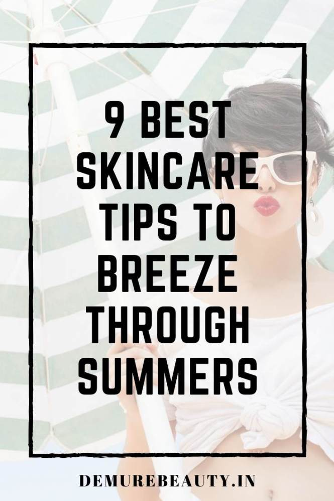 summer skincare tips, clean beauty, natural skincare tips