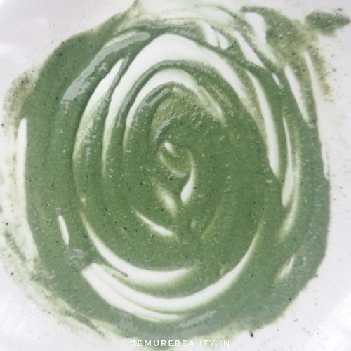 skincare villa green clay mask