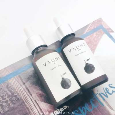 vaunt vitamin C toner for oily skin