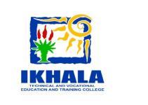 Ikhala TVET College Website And Contact Details