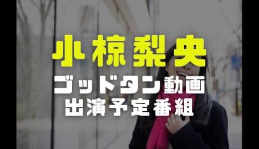 小椋梨央の経歴|ゴッドタン動画や今後の出演予定番組を調査
