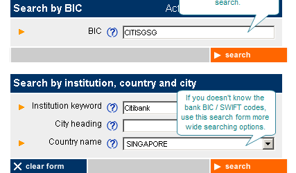 How to search for bank SWIFT codes 3