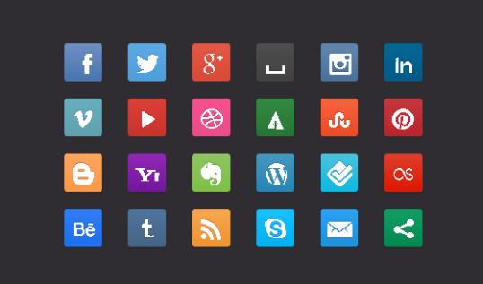 css3-social-buttons