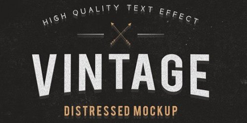 Freebie: Vintage and Grunge Text Effects 8