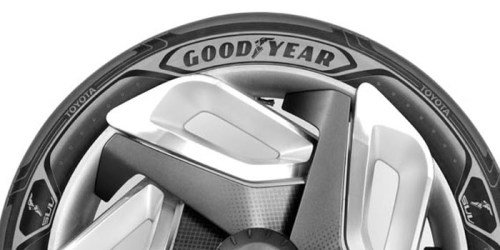 Goodyear - Electricity-producing and shape-shifting concept tires 2