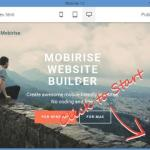 Mobirise: Drop-Dead Easy Mobile Friendly Website Builder