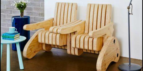 Plywood Multi-function Seat 3