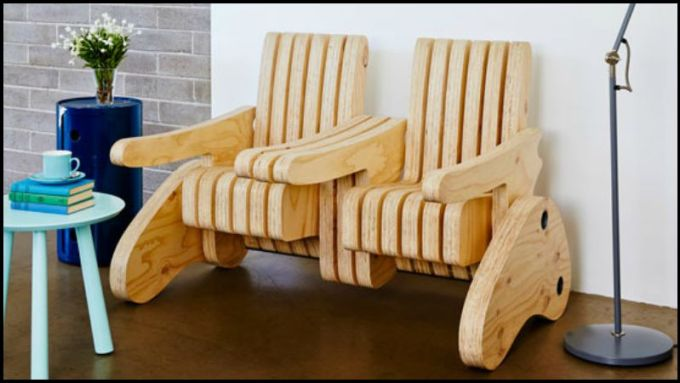 multi functional seat feature Plywood Multi function Seat