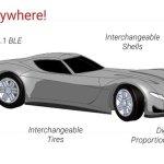 Quantow Gear Minicar – 1/67 scale Smartphone control RC car