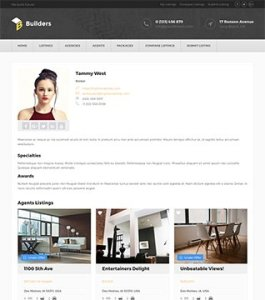 Build real estate listings business website with WordPress plugin 8