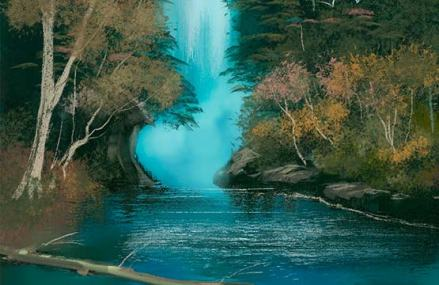 br waterfall - Corel Painter 2019 -Digital Art and Painting Software