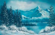 br winter splendor - Corel Painter 2019 -Digital Art and Painting Software