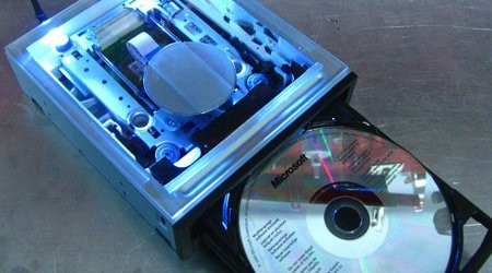 DIY Guide for Creating a Clear Window in any 5.25 Optical Drive 3