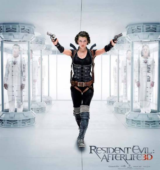resident evil afterlife 3d poster
