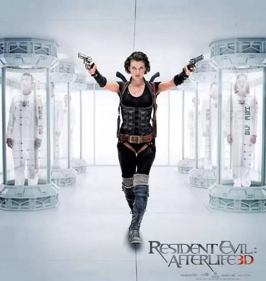 resident evil afterlife 3d poster