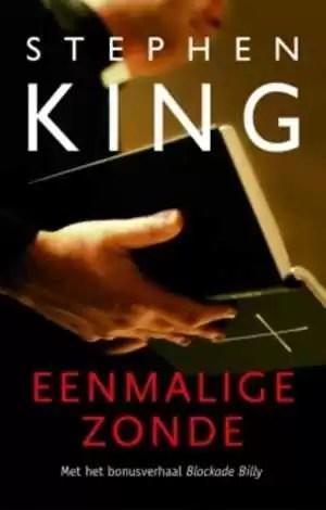 Boek eenmalige zonde van Stephen King