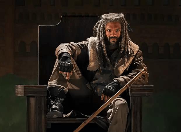 Ezekiel (Khary Payton) The Walking Dead seizoen 7