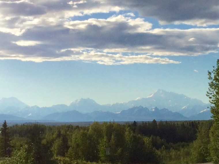 Talkeetna views of Denali at the Overlook