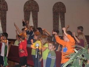 Praise Him, all ye little Children