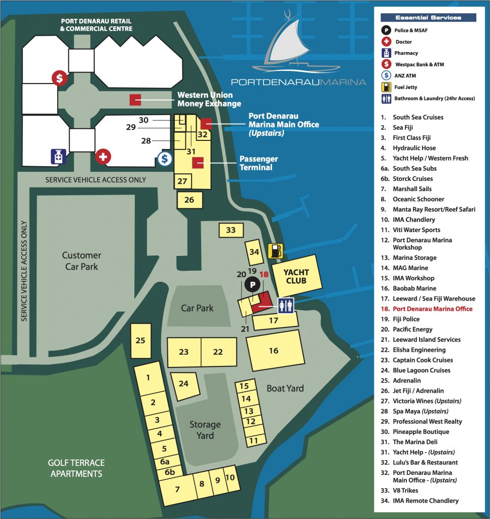 2016 PD Marina Large Map