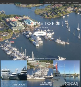 Port Denarau Marina launches new Mobile Responsive Website