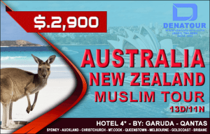 package australia new zealand muslim tour denatours