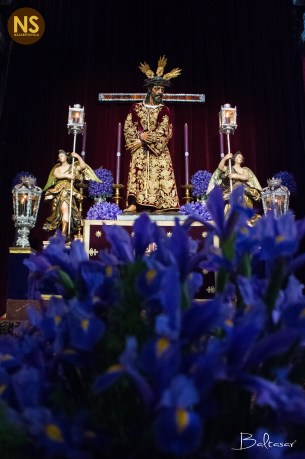 Jesús Nazareno del Silencio. Besapies 2017 | Baltasar Núñez