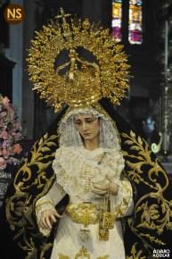 Virgen del Carmen Doloroso. Besamanos 2017   Álvaro Aguilar