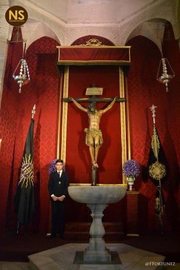 Cristo de las Almas, los Javieres. Besapiés 2017   Javier Fortúnez