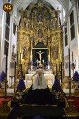 Cristo de la Caridad, Santa Marta. Besapiés 2017   Javier Fortúnez