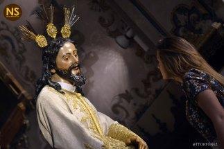 Silencio en el desprecio de Herodes, la Amargura. Besamanos 2017   Javier Fortúnez
