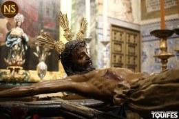 Cristo de Burgos. Besapiés 2017   Tomás Quifes
