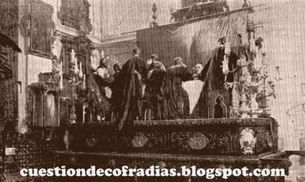 Estreno del apostolado de Bidón | Cuestión de Cofradías