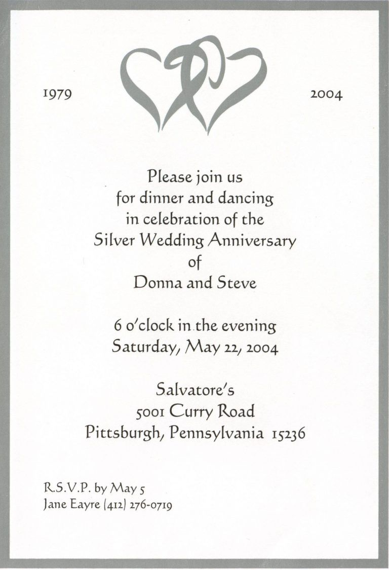25Th Wedding Anniversary Invitations 50th Wedding Anniversary Invitation Templates Awesome Signs New
