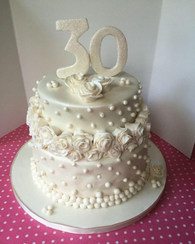 30Th Wedding Anniversary Decorations 30th Wedding Anniversary Cake Ideas Wedding Theme And Decorations