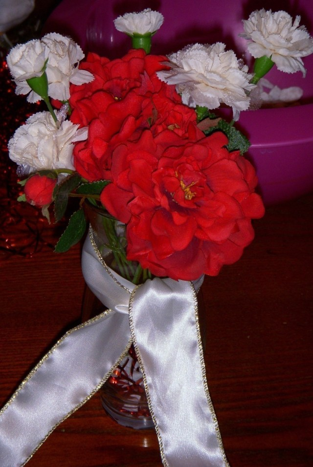 40Th Wedding Anniversary Decorations 40th Anniversary Party Centerpieces How To Make A Table Centerpiec