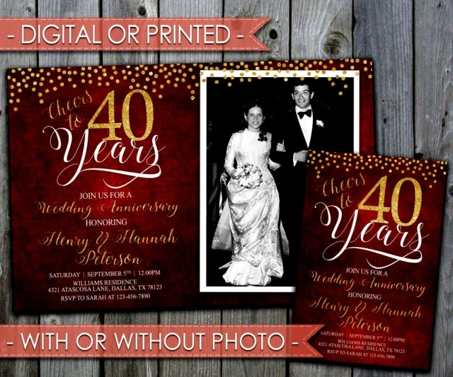 40Th Wedding Anniversary Decorations Inspirational 40th Wedding Anniversary Decorations Ideas Party In