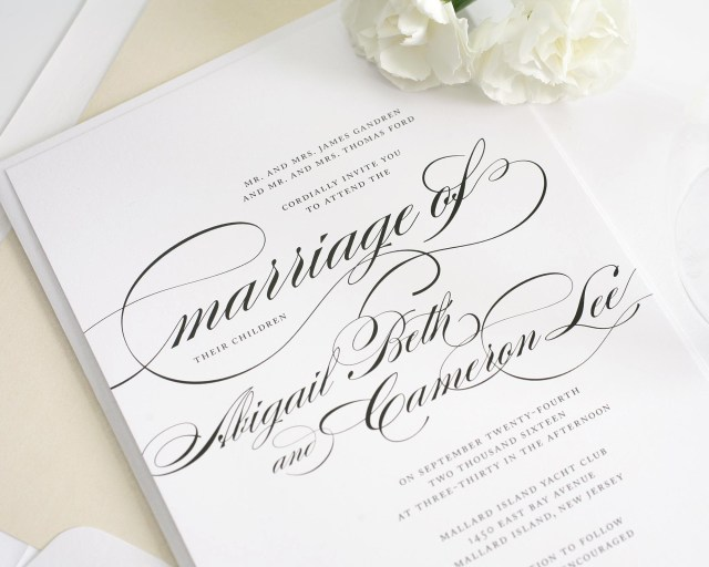 Amazing Wedding Invitations Beautiful Wedding Invitations Marina Gallery Fine Art