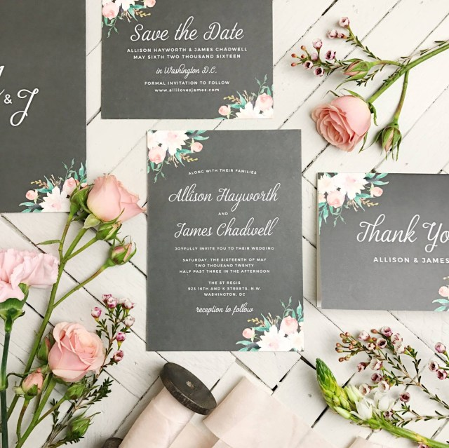 Amazing Wedding Invitations Vendor Spotlightbeautiful Wedding Invitation Suites From Basic