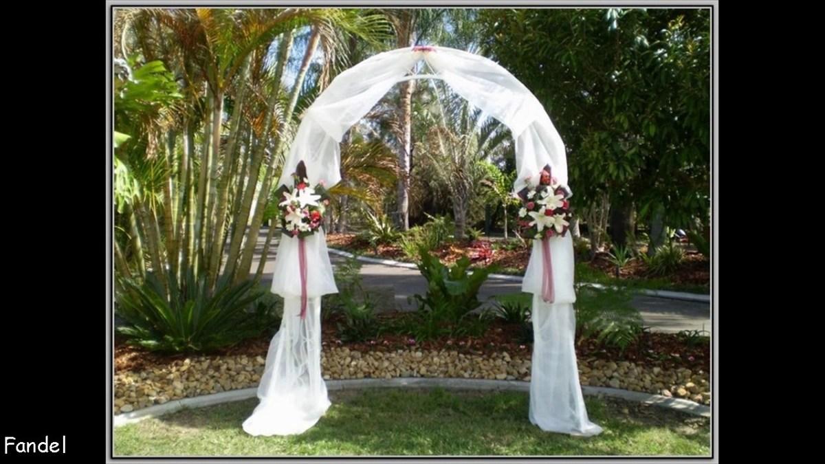 Arch Decorations For Weddings Diy Wedding Arch Decorating Ideas Youtube