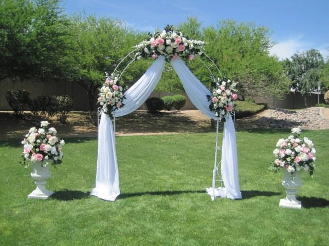 Arch Decorations For Weddings Wedding Flowers Ideas Luxury White Simple Wedding Arch Flowers